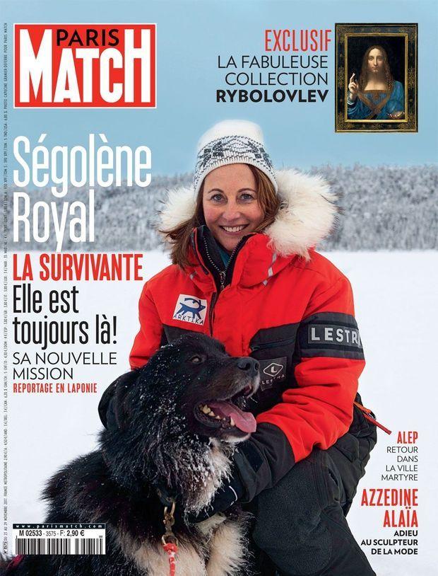 Ségolène Royal en couverture de Paris Match n°3575.