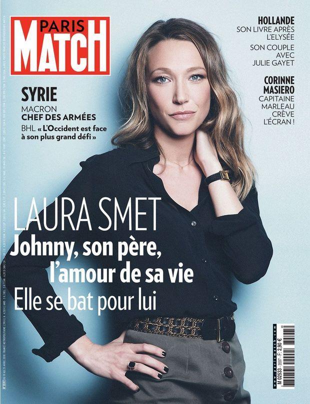 Laura Smet en Une de Paris Match n°3597.