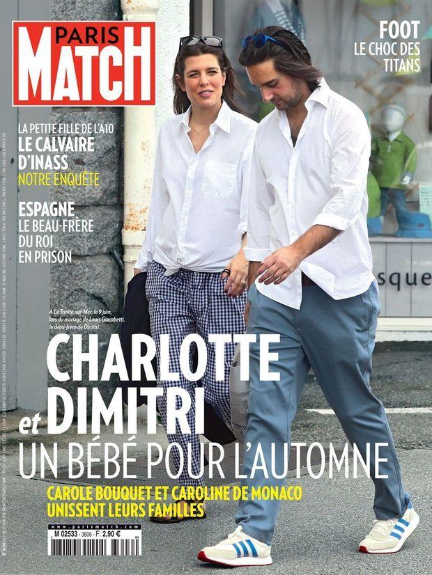 La couverture de Paris Match numéro 3606.
