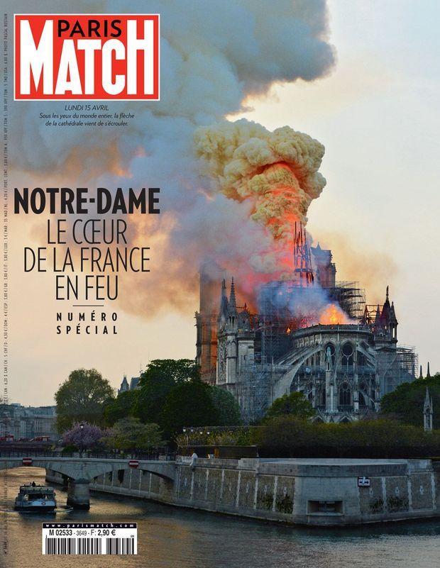 Couverture de Paris Match n°3649.