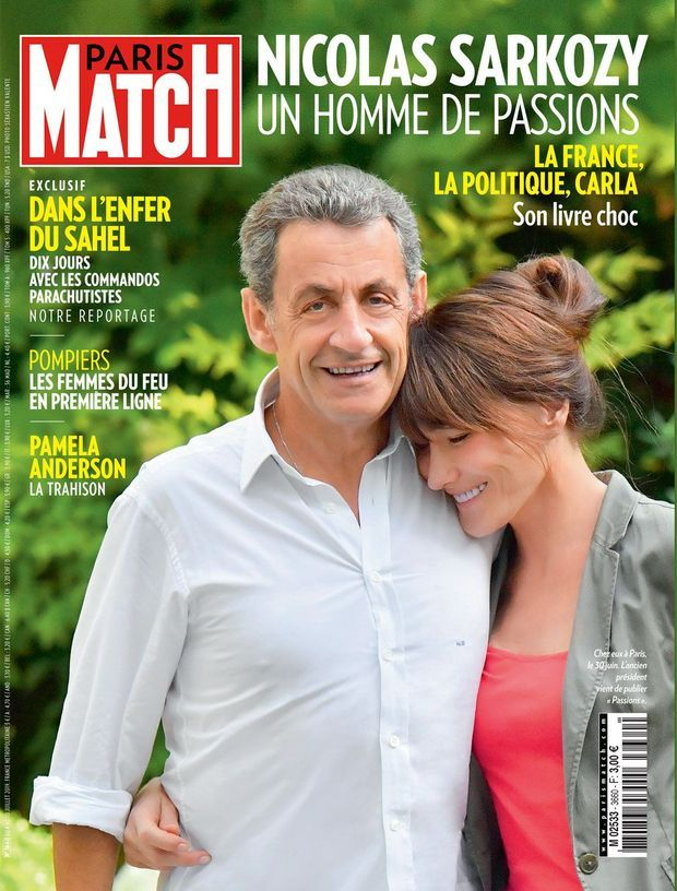 Couverture de Paris Match n°3660