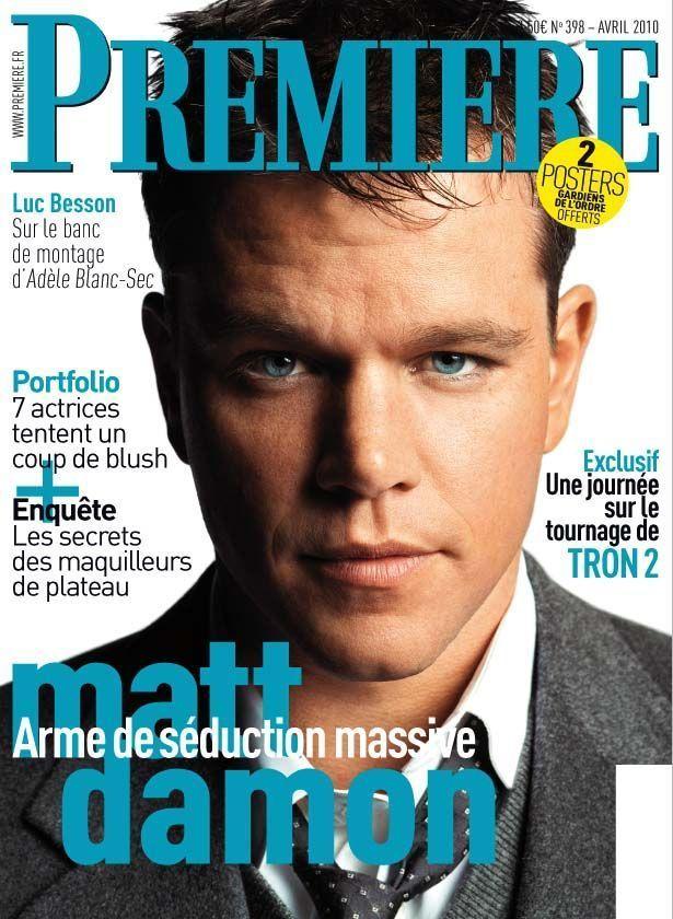 Couverture du numéro d'avril 2010 de PREMIERE-