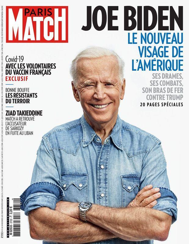 Couverture Paris Match 3732