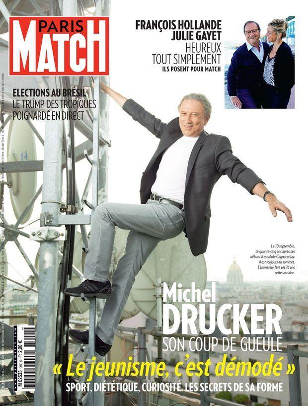 La couverture de Paris Match numéro 3618.