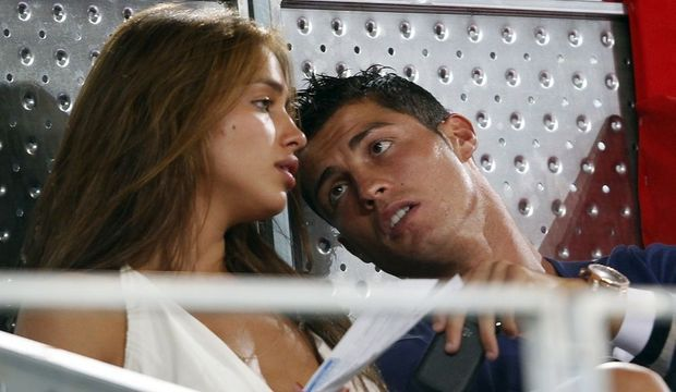 Cristiano Ronaldo Irina Shayk-