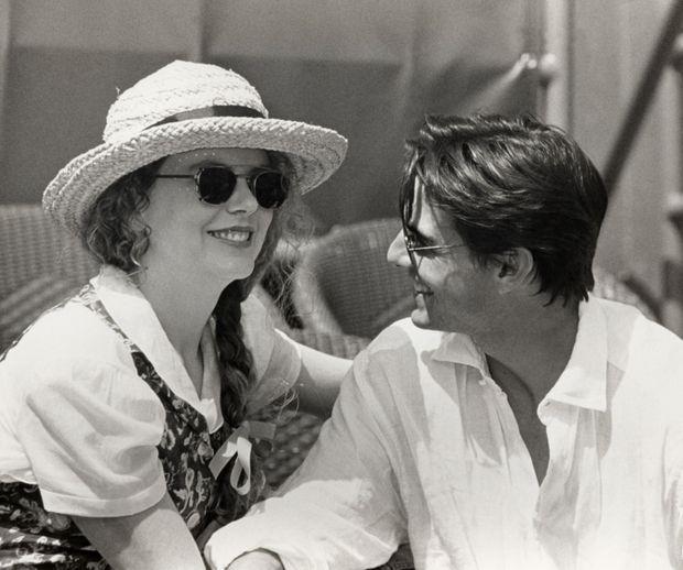 Nicole Kidman et Tom Cruise en septembre 1993.
