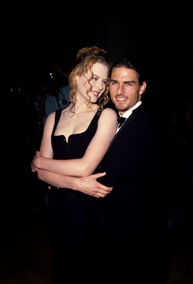 Nicole Kidman et Tom Cruise en septembre 1994.