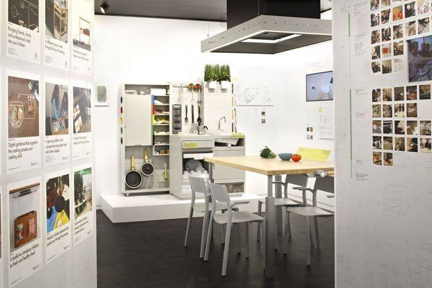 Vue globale de la future cuisine Ikea.