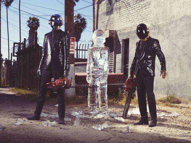 Daft Punk pour Paris Match, Los Angeles, avril 2013.
