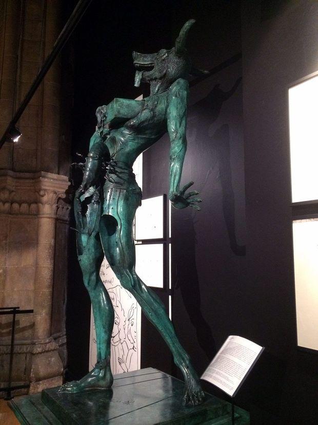 Sculpture de Dali...