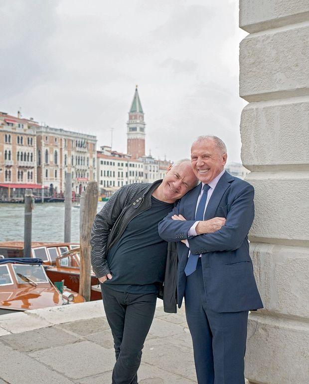 Damien Hirst et François Pinault. Pour l'amour de l'art à Venise.