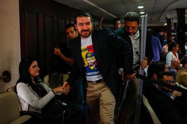 Daniel Ceballos à Caracas, le 5 juin 2018.