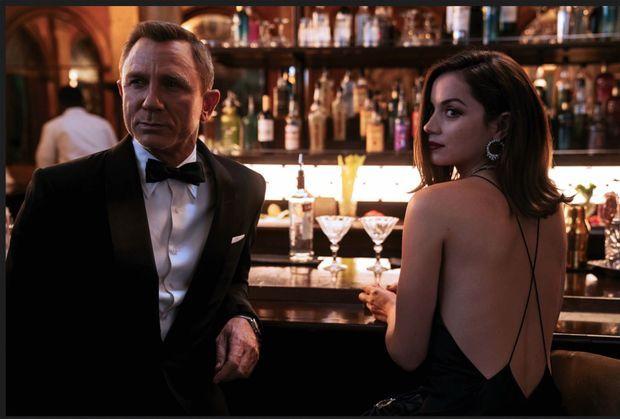Daniel Craig et Ana de Armas dans le prochain « James Bond » : « Mourir peut attendre ».