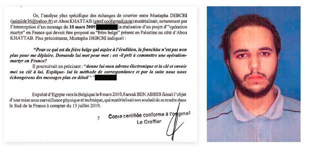 Dans un mail du 9 mars 2009, intercepté entre deux chefs d'Al-Qaïda, il est aussi question d'une « opération martyre en France »