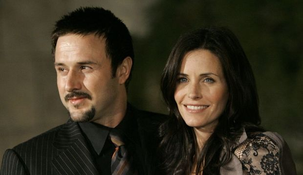David Arquette et Courteney Cox-