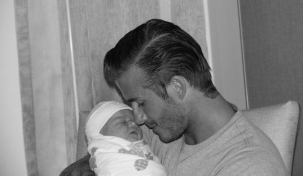 david beckham bebe-