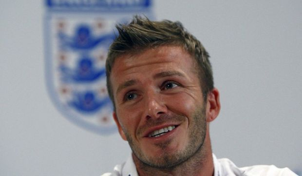 David Beckham datant histoire