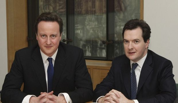 David Cameron et George Osborne-
