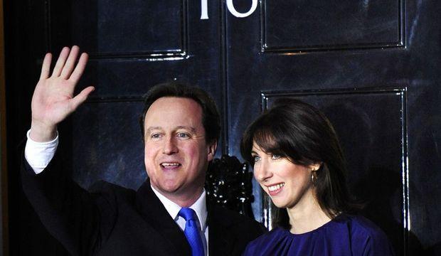 David et Samantha Cameron-