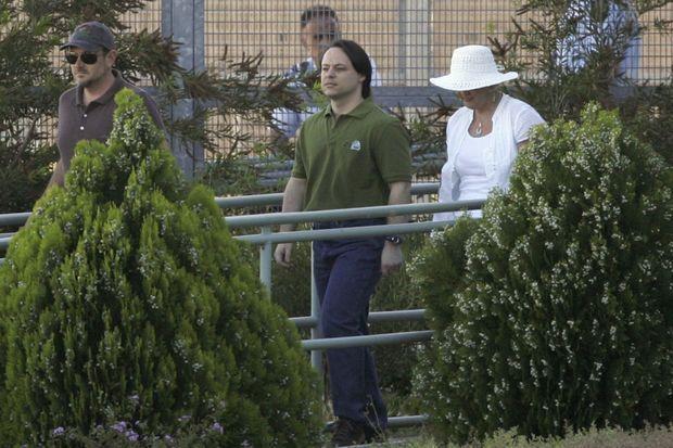 David Hicks en décembre 2007, à sa sortie de prison.