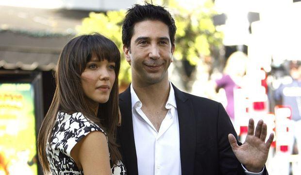 david schwimmer et sa fiancée-