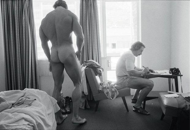 De dos, Arnold Schwarzenegger