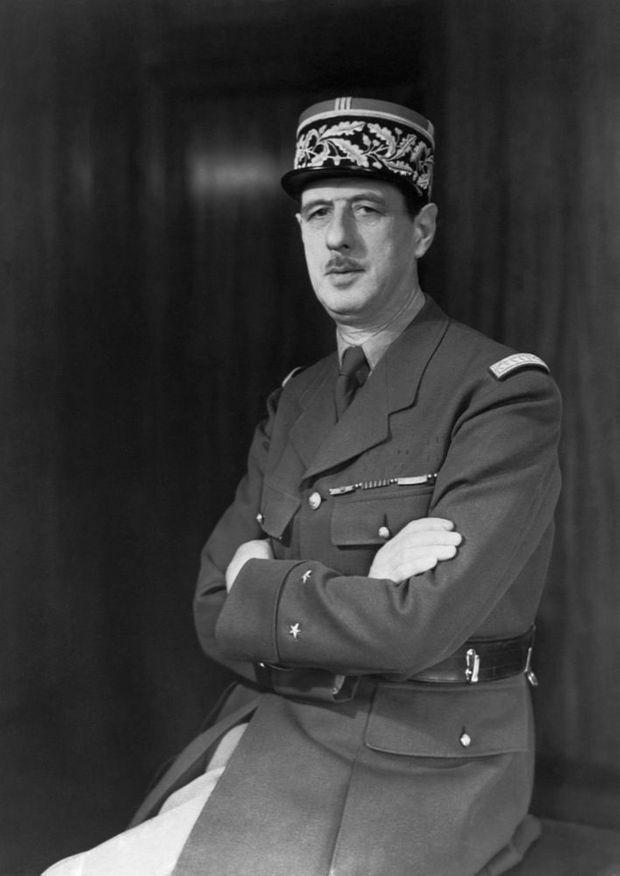 Le Général Charles De Gaulle à Londres en juin 1940.