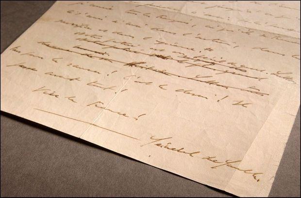 Le manuscrit de l'appel du 18 juin 1940.