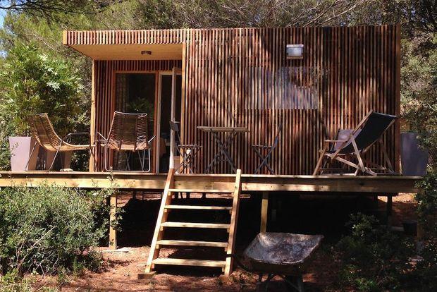 De véritables studios en bois, en général, entre 20 et 35 mètres carrés