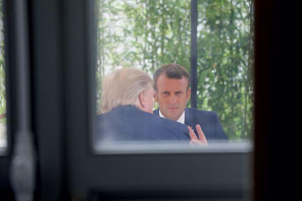 Le 24 août, avant l'ouverture du sommet, le déjeuner en tête à tête avec Donald Trump durera deux heures.