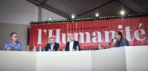 Le débat, samedi, entre Jean-Paul Delevoye et Philippe Martinez.
