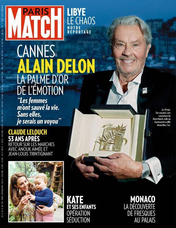La couverture du numéro 3654 de Paris Match.