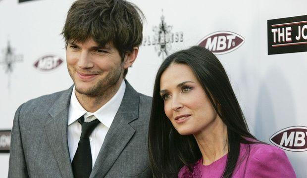 Demi Moore et Ashton Kutcher -