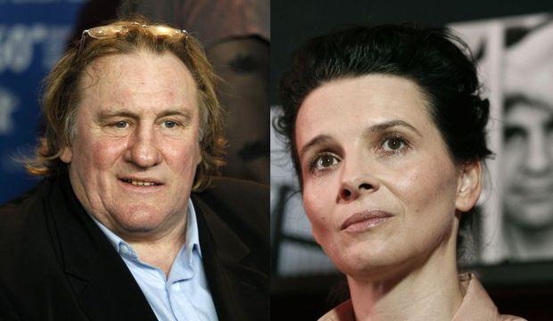 Depardieu Binoche clash-