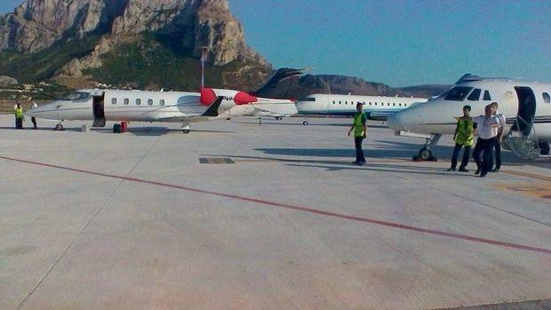 Des jets privés à Palerme.