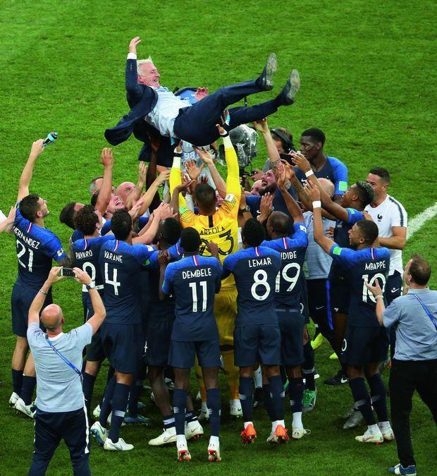 15 juillet 2018, les Bleus de Didier Deschamps remportent la coupe du monde de football.