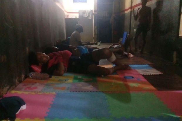 Les difficiles conditions de détention en Indonésie.