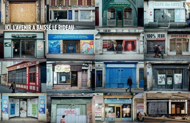 Taux de chômage, niveau de revenu, vieillissement, vote FN mais aussi fermeture des commerces en centre-ville : autant de critères qui font de Nevers une ville emblématique de cette France périphérique et amère qui se vit comme la grande oubliée de la marche du monde.