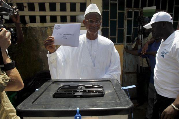 Cellou Dialein Diallo, le chef de l'opposition.