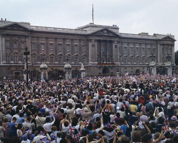 Le mariage du prince Charles et Lady Diana Spencer, le 29 juillet 1981.