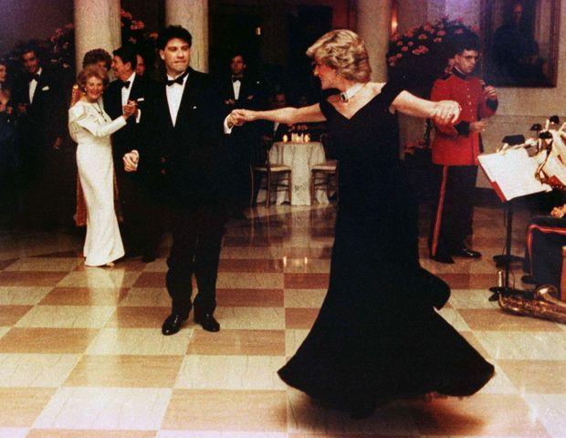 Diana et John Travolta
