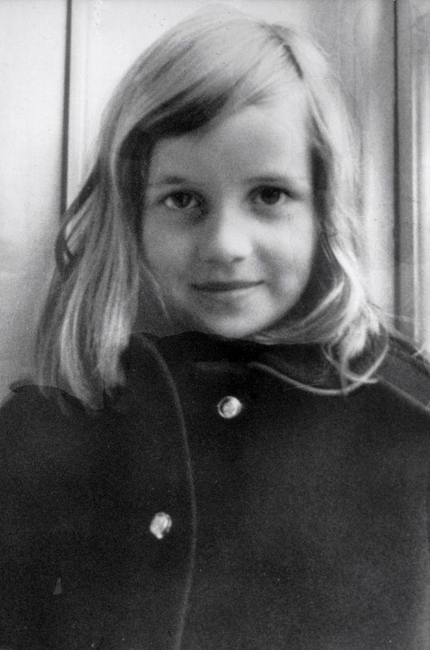 Diana Spencer en 1965.