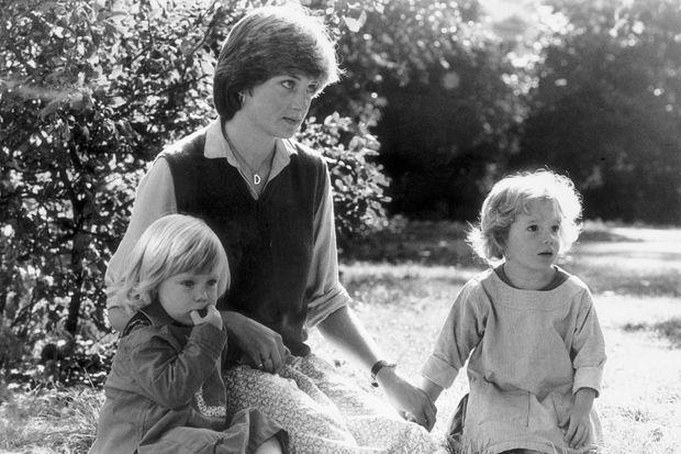 Lady Diana Spencer en 1980.