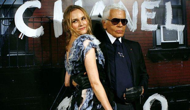 Diane Kruger Karl Lagerfeld-