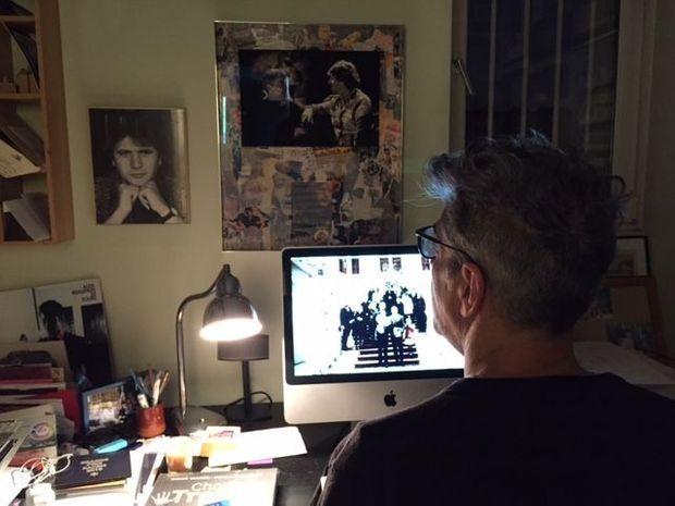Didier Varrod à son bureau
