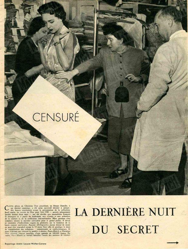 « La dernière nuit du secret » - Paris Match n°47, 11 février 1950
