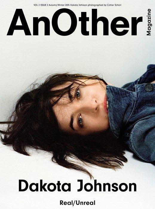 """Dakota Johnson en Une du magazine """"AnOther"""" automne/hiver 2015."""
