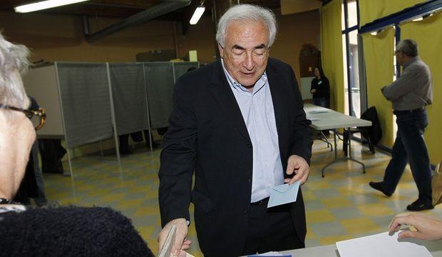 Dominique Strauss-Kahn vote-