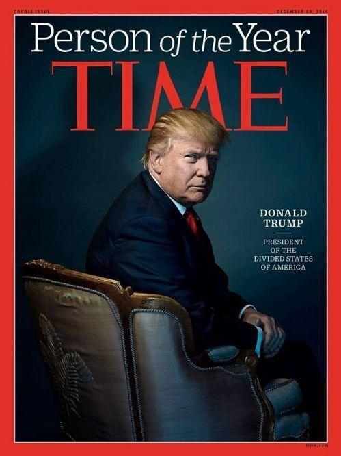 Donald Trump en couverture de «Time».