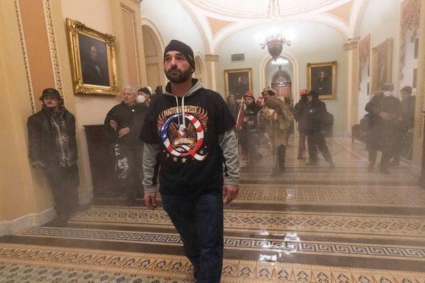 Doug Jensen a été arrêté après l'invasion du Capitole.
